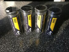 12 Dunlop Professional Squash Balls Double Yellow Dot -Wsf Wsa Psa Official Ball
