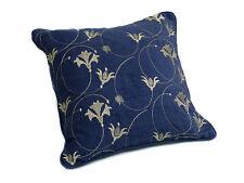 Embroidered Velvet Square Decorative Cushions