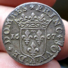 RRR DOMBES 1/12 ECU ANNE MARIE LOUISE D'ORLEANS 1667