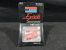 MONOGRAM MINI EXACTS HO 1/87 SCALE REPLICA VINTAGE FERRARI F-40 (#2015) NEW