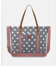 Cath Kidston Premium Tote Baby Bag Navy Spot Twill