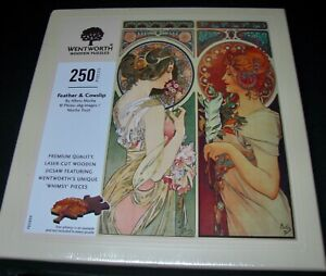 "Wentworth Wooden Puzzle ""Feather and Cowslip"" 250 Pieces Brand New"