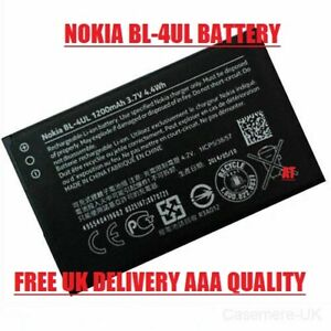 Nokia BL-4UL Replacement Battery 1200mAh For Nokia Asha 225, 225 ,NEW 3310