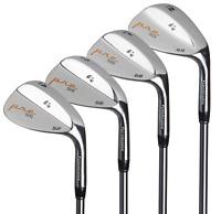 Pinemeadow Golf Men's Pre 4 Wedge Set, Right Hand, Steel, Regular, 52, 56, 60,