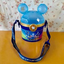 TOKYO DISNEYLAND 25th anniversary Mickey Mouse POPCORN BUCKET USED SNACK CASE