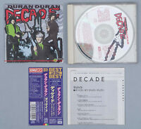 DURAN DURAN DECADE Japan CD w/ Obi Incert TOCP-50111 EMI The Reflex 1996