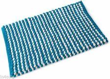 Set di accessori da bagno blu del tappeto