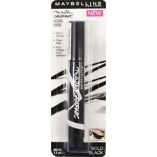 Maybelline Eyestudio Master Graphic Liquid Marker Eyeliner Pen Bold Black New