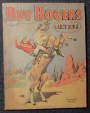 1946 ROY ROGERS Paint Coloring Book VG 4.0 Whitman / Uncolored