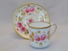 Spode Coffee Cup and Saucer Pattern Number 12669 Retailed by T Goode & CO c1870