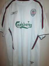 "Liverpool FOOTBALL à 2003-2004 chemise soccer jersey taille xl 46 "" -48"" / 21980"