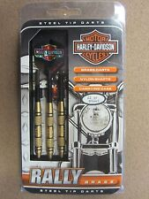 Harley Davidson Rally Brass 22g Steel Tip Darts 61141 w/ FREE Shipping