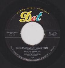 EVELYN FREEMAN {50s R&B R&R Popcorn} Let's Make A Little Motion ♫HEAR