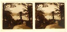4 vues stéréo sur verre vers 1900 / ESPAGNE ou SUD DE LA FRANCE