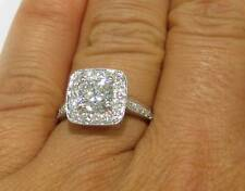2CT CUSHION CUT DIAMOND ENGAGEMENT RING CLASSIC PRONG SET