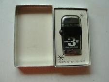Compact VU-Lighter, old, in original box, KYW-TV, Philadelphia, Channel 3