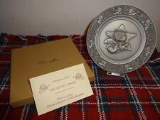 1979 Hallmark Little Gallery Pewter Christmas plate by Mary Hamilton