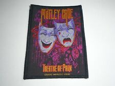 MOTLEY CRUE THEATRE OF PAIN WOVEN PATCH