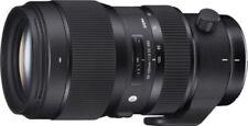 Objetivos zoom Sigma F/1, 8 para cámaras