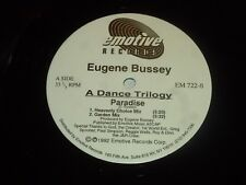 "EUGENE BUSSEY - Paradise - 1992 USA 4-track 12"" Vinyl Single"