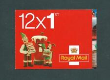 LX40 12 X 1st Christmas barcode Booklet