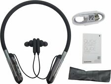 Samsung U Flex Bluetooth Headphones Stereo Music Neckband Headset Black EO-BG950