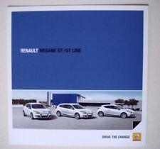 Renault . Megane . Renault Megane GT/GT Line . April 2010 Sales Brochure