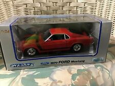 NEW! WELLY '70 FORD MUSTANG BOSS 302-FREE SHIPPING