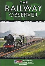 THE RAILWAY OBSERVER - AUGUST 2016