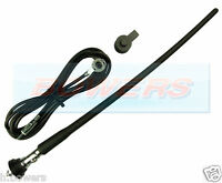 UNIVERSAL CAR RADIO/STEREO AERIAL ARIEL ARIAL RUBBER/FLEXIBLE ROOF/WING MOUNTING