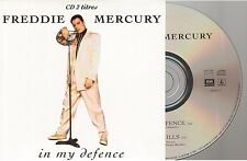 FREDDIE MERCURY in my defense CD SINGLE france french card sleeve QUEEN