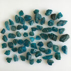 200 CTS SCOOP NATURAL APATITE NEON BLUE RAW ROUGH LOOSE MINERAL GEMSTONES LOT