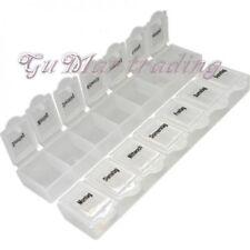 Pillenbox 7 Tage Pillendose Tablettendose Medikamententenbox Tablettenbox
