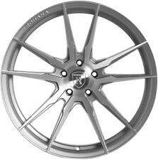 Rohana RF2 19x9.5 5x114 et20 Brushed Titanium Wheels Rims (set of 4)
