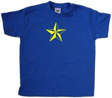 Magliette e maglie verde per bambini dai 2 ai 16 anni 100% Cotone Taglia 3-4 anni