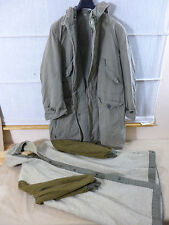 #2 US ARMY WW2 GI Winter Parka Overcoat  SHELL PARKA MEDIUM m. ALPACA LINER MOD