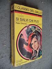 CLASSICI GIALLO MONDADORI #   62 - PETER CHEYNEY - SI SALVI CHI PUÒ