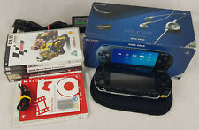 Sony PSP Handheld Console + 4 Games, Black, Boxed, Job Lot, Bundle.