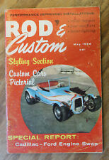 ROD & CUSTOM 1956 DRAG RACING FLATHEAD HOT CAD V8 32 FORD HOP UP 53 MERCURY VTG