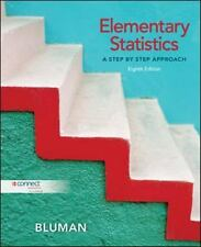 Elementary Statistics : A Step by Step Approach by Allan Bluman, 8th Edition