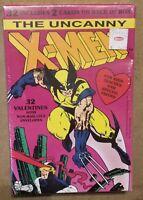 X-Men Wolverine SEALED Box Vintage Valentines cards 1992 Marvel Comics Paper 32