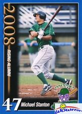 2008 Jamestown Jammers #47 Mike Giancarlo Stanton FIRST EVER ROOKIE MINT Yankees
