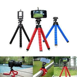 Mini Flexible Tripod Mobile Phone Stand For Mobile Iphone Camera Video 3Colors