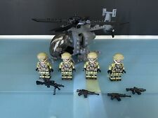 Custom Lego FBI Helicopter Team Brickarma Brickmania Battlebrick (+ BONUS)
