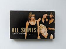 All Saints - Never Ever - Cassette Tape   Single in slipcase 1997 London Records