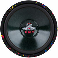 "NEW 10"" subwoofer Replacement Speaker.4 ohm. bass.Free Air infinite baffle.10in"