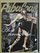Fabulous magazine December 20, 2009. Personally signed by Alexandra Burke.