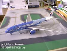 JC Wing Malaysia Airlines Boeing 777-200 Freedom of Space Diecast Model 1:200