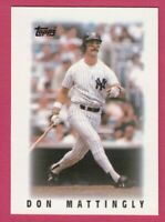 1986 Topps Major League Leaders # 28 Don Mattingly -- New York Yankees