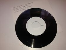 JOHNNY HALLYDAY 45 TOURS VINYLE TEST PRESSING  NOUS QUAND ON S EMBRASSE+3